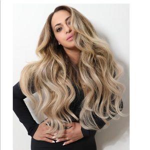 Bellami Hair Extensions.